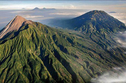 volcan en indonésie