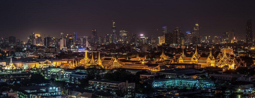Grand Palace de Bangkok en Thaïlande