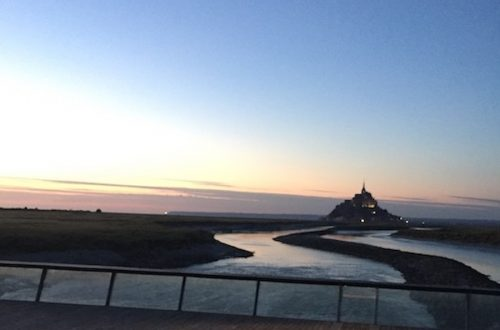 belle vue du Mont Saint Michel