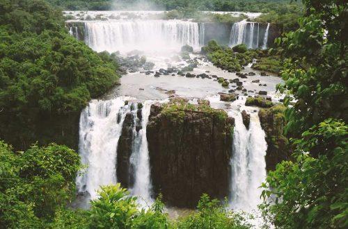 photo des chutes d'eau d'Iguazu en Argentine