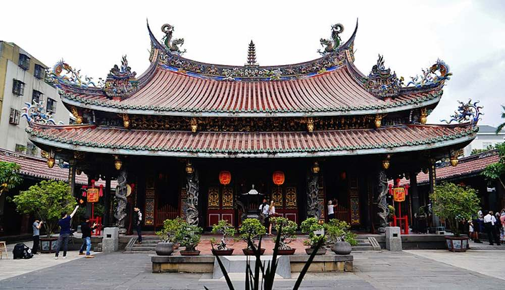 Temple Bao Chine
