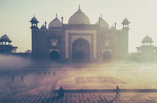 Découverte du Taj Mahal